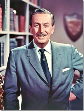Walt Disney wearing a Smoke Tree Ranch tie - FindingWalt.com