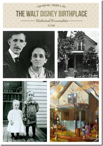 Walt Disney's birthplace - FindingWalt.com