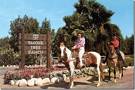 Horseback riding at Smoke Tree Ranch - FindingWalt.com