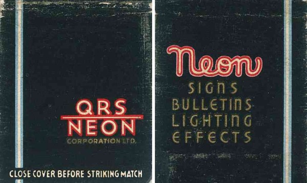 QRS Neon | FindingWalt.com