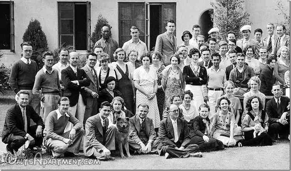Walt Disney Studio group photo - Left - FindingWalt.com