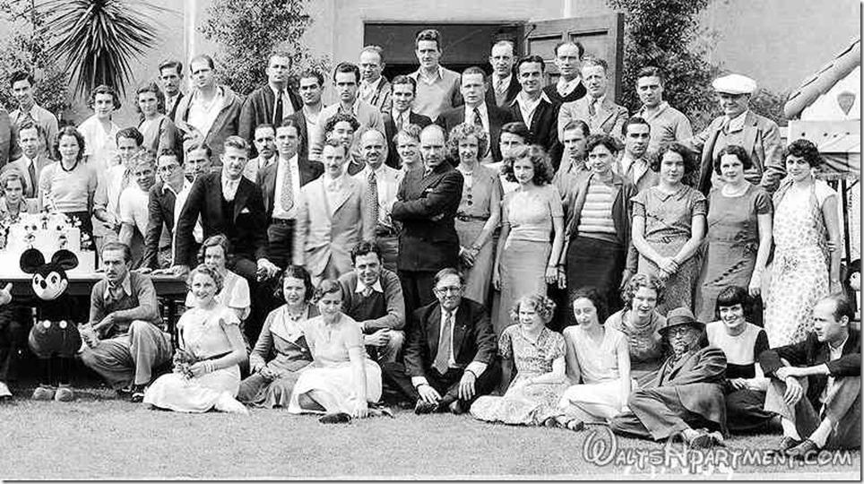 Walt Disney Studio group photo - Right - FindingWalt.com