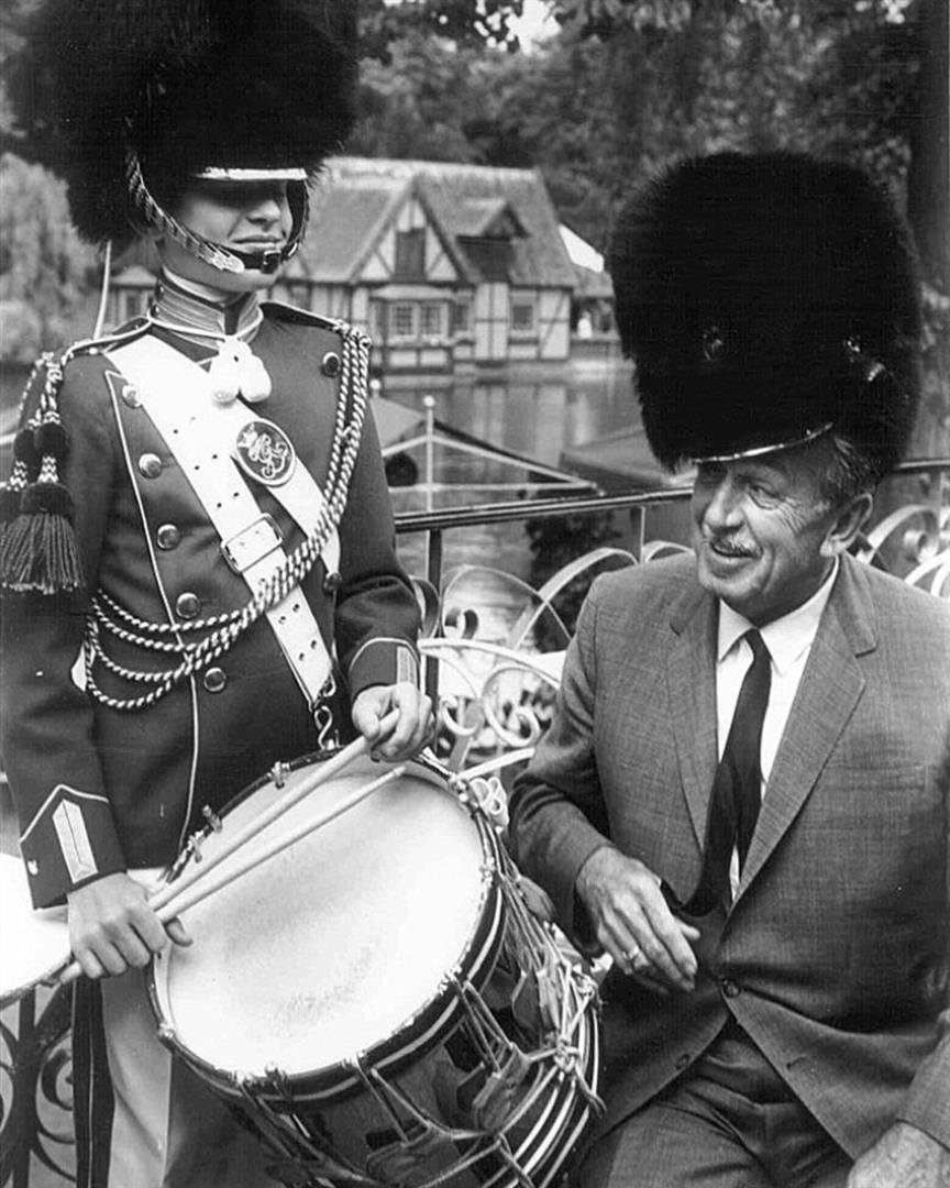Walt Disney at Tivoli Gardens in 1964   FindingWalt.com