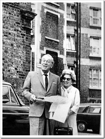 Walt and Lillian in London